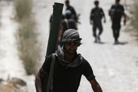 Suriye Ordusu Palmira antik şehrine 5 kilometre uzaklıkta
