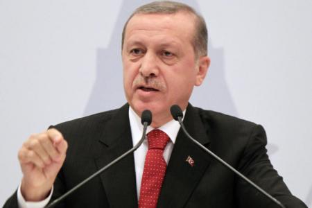 """Erdoğan: """"Şehitlerimiz var ama geri dönmeyeceğiz"""""""