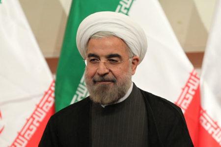 İran Cumhurbaşkanı Ruhani'ye 1 Mayıs protestosu