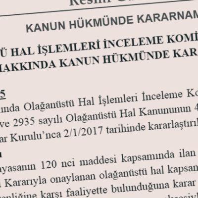 KHK'lar jet hızıyla çıktı, mağdurlar için kurulacak komisyon yaza kaldı