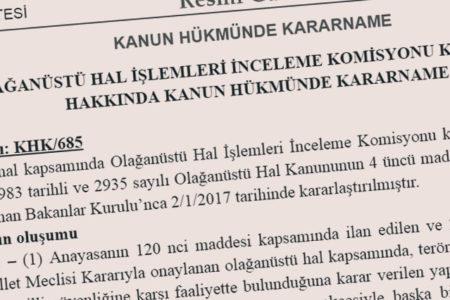 OHAL Komisyonu ile mahkemeler devre dışı bırakılıyor