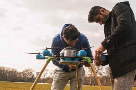 İki kardeşten 'mayın temizleyici' insansız hava aracı