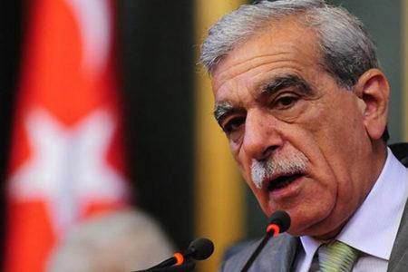 Ahmet Türk sağlık kontrolünden geçirildi