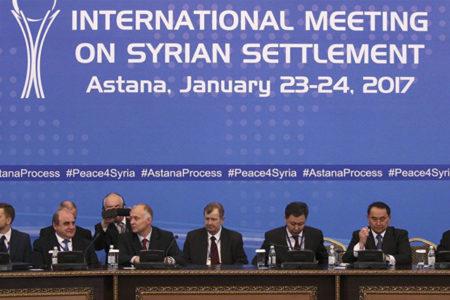 Astana görüşmelerinde ilk gün tamamlandı: Dakika dakika yaşananlar