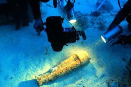Bozburun'da 2700 yıllık heykel bulundu
