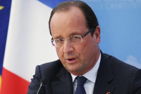 Hollande: Bizim için Kürdistan'ın güvenliği önemli
