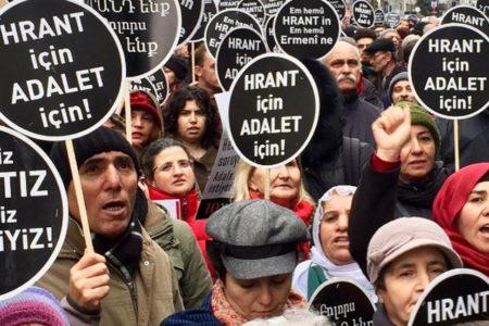 Hrant Dink öldürülüşünün 10.yılında anıldı