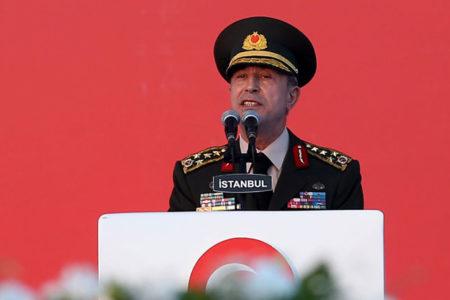 Genelkurmay Başkanı Hulusi Akar: Harekatta planlanan hedeflere ulaşıldı