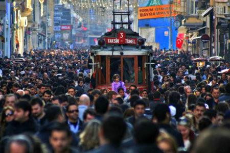 Türkiye nüfusu 1 milyon arttı