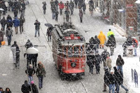 İstanbul için kar uyarısı!