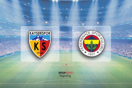 Sergen Yalçın'lı Kayserispor Fenerbahçe'yi farklı mağlup etti