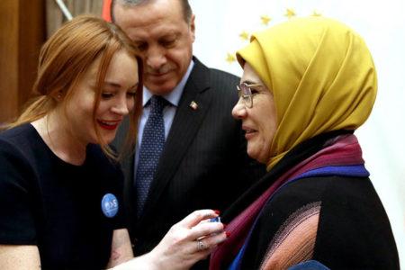 Times: Erdoğan ve Lindsay Lohan bağlantısının arkasında Hilal Kaplan var