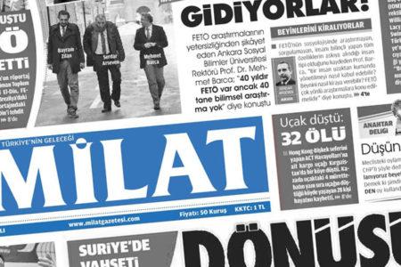 Milat'tan Obama'ya: Dönüşün olmasın