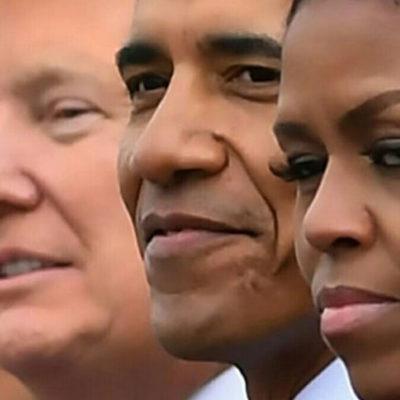 Michelle Obama: Bir tarafın tamamı erkek, tamamı beyaz