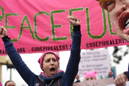 Trump'tan göstericilere zeytin dalı: 'Barışçıl gösteriler demokrasimizin ayırt edici niteliğidir'