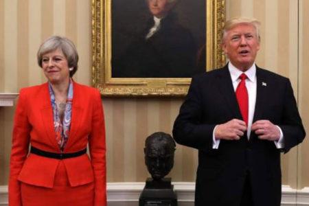 İngiltere Başbakanı May: Trump NATO'yu yüzde yüz destekliyor