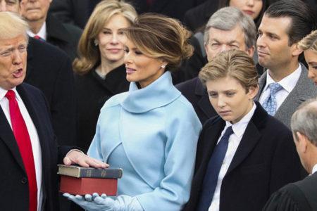Trump, yemin töreninde terörü dünya üzerinden silme sözü verdi