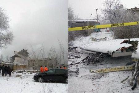 Türk kargo uçağı düştü! Çok sayıda ölü var
