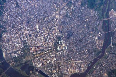 NASA, 'Trump'ın onuruna' Washington DC'nin uzaydan çekilmiş görüntülerini yayınladı