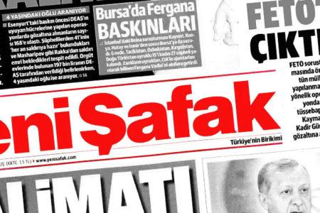 Yeni Şafak: Kılıçdaroğlu ABD Büyükelçisi'nden talimat aldı, MHP tabanına oynuyor