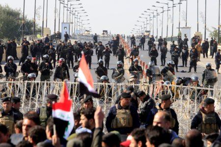 Irak'ta yolsuzluk protestosu kanlı bitti: 7 ölü