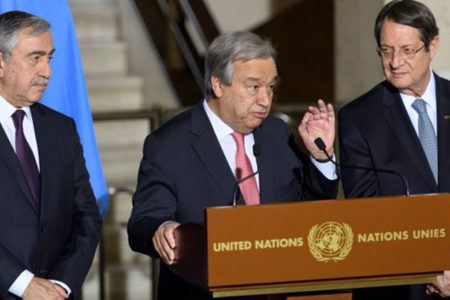Rum lider Nikos Anastasiadis: Kıbrıs görüşmelerinin sonuçsuz kalmasının sorumlusu Türkiye