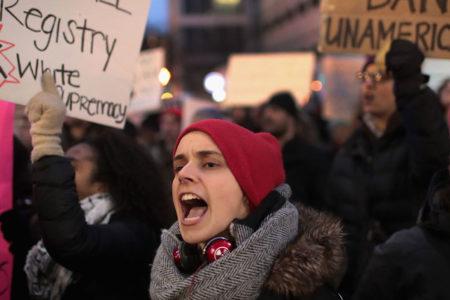 Trump'a karşı genel grev çağrısı