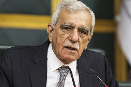 Ahmet Türk'ten tahliye sonrası ilk açıklama: Barıştan başka bir formül yok