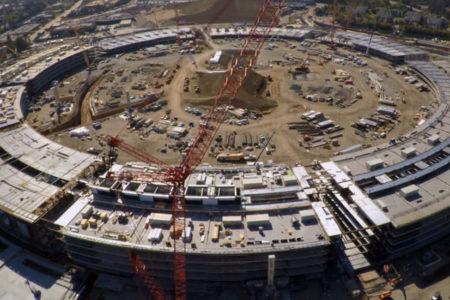 Apple'ın yeni merkezi için geri sayım başladı