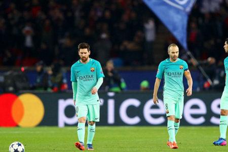Barcelona darmadağın: PSG 4-0 Barcelona