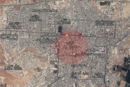 AA: TSK ve ÖSO El Bab'ın merkezini ele geçirdi