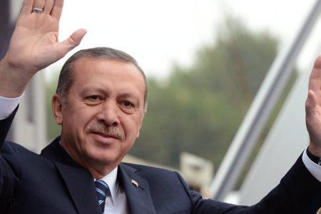 Erdoğan: Beyaz, ak anlıyorsunuz. Yani o evet. Kahverengiyi de biliyorsunuz