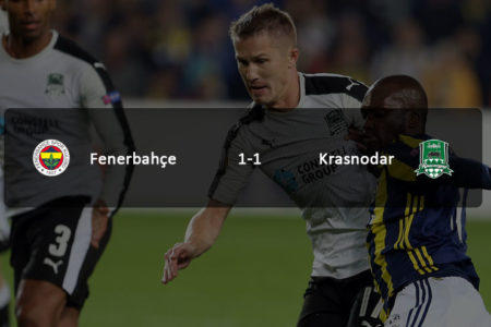 Fenerbahçe Avrupa'ya veda etti: Fenerbahçe 1-1 Krasnodar