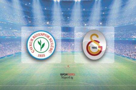 Tudor'lu Galatasaray ilk maçında Rizespor'la 1-1 berabere kaldı