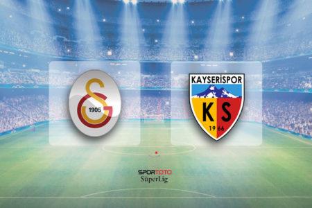 Galatasaray evinde kaybetti: Galatasaray 1-2 Kayserispor