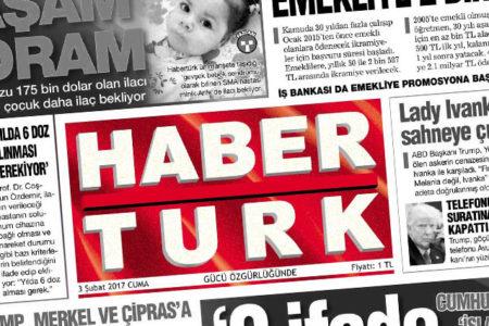 Habertürk internet sitesinin genel yayın yönetmeni istifa etti
