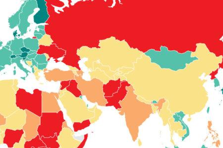 Türkiye, Dünya Barış Endeksi'nde son 20 içerisinde