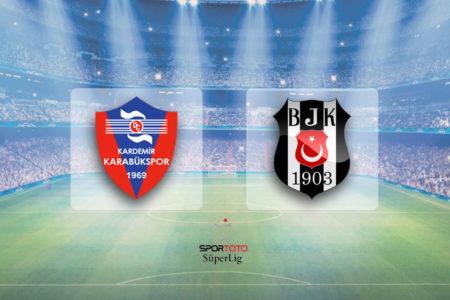 Lider'e Karabük çelmesi: Kardemir Karabükspor 2-1 Beşiktaş