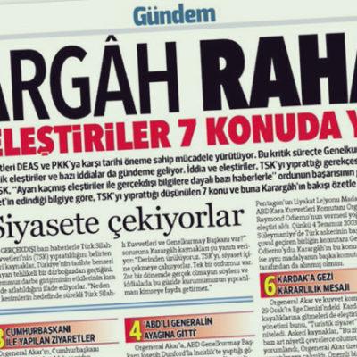Hürriyet'in haberi hakkında soruşturma başlatıldı