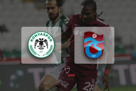 Trabzonspor Konya deplasmanından 1 puanla döndü