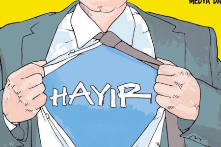 İrfan Değirmenci Leman'ın kapağında