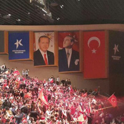 MHP'den Erdoğan posterli 'Evet' kampanyası