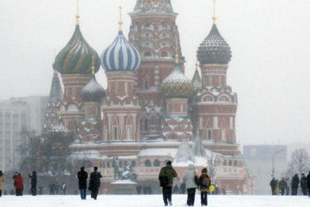 Moskova'da aşırı soğuklar nedeniyle 'sarı alarm' verildi