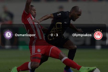 Osmanlıspor havlu attı: Osmanlıspor 0-3 Olympiakos