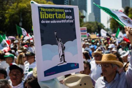 Trump karşıtı gösteriler Meksika'ya sıçradı