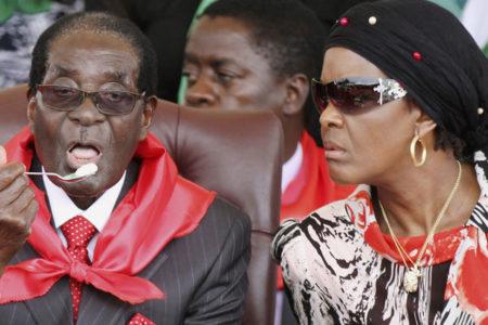 Zimbabve liderinin eşi: İnsanlar onun ölü bedenine bile oy verecekler!