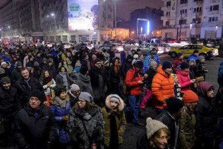 Romanya'da protestolar nedeniyle Adalet Bakanı istifa etti