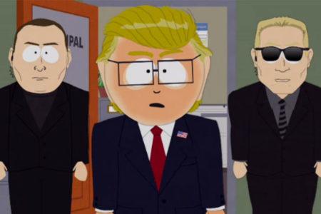 South Park Trump esprisi yapmayacak: Komediyi kendileri yapıyor