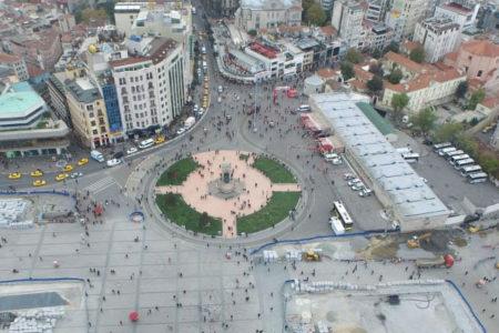Taksim'e yapılacak caminin yeri belli oldu