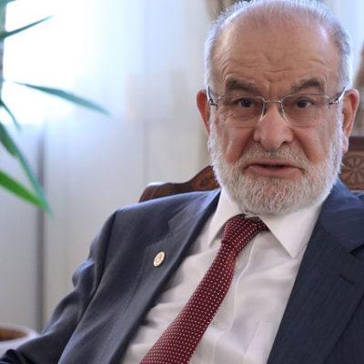 Karamollaoğlu: Kaynak bitti, ülkenin hazinelerini borç karşılığında ipotek ettiriyorlar